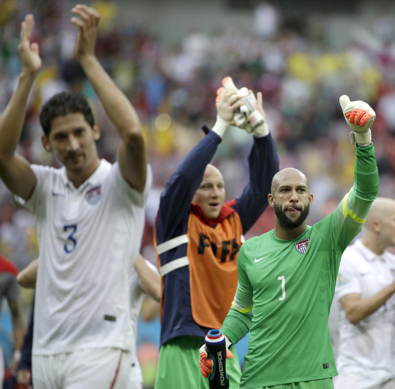 US advances to World Cup's 2nd round despite loss