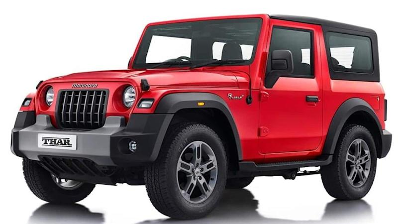 Bookings for 2020 Mahindra Thar to begin from October 2