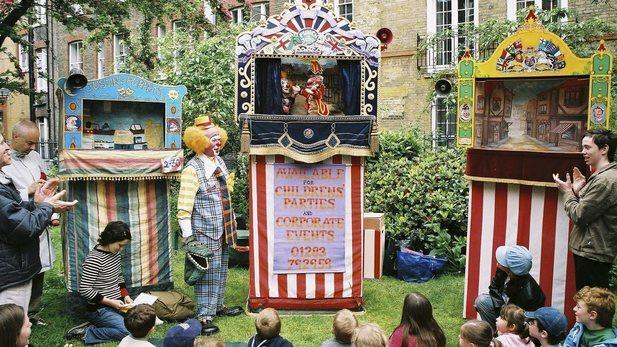 <p>Your never too old to enjoy a good show of Punch and Judy. Head down to St Pauls Church in Covent Garden on Sunday 8th May to enjoy some old fashioned fun. </p><p>Perfect to enjoy this weekends hot weather, at 11am there is a brass band procession followed by a host of fun puppet shows, maypole dancing, folk music and refreshments. </p>