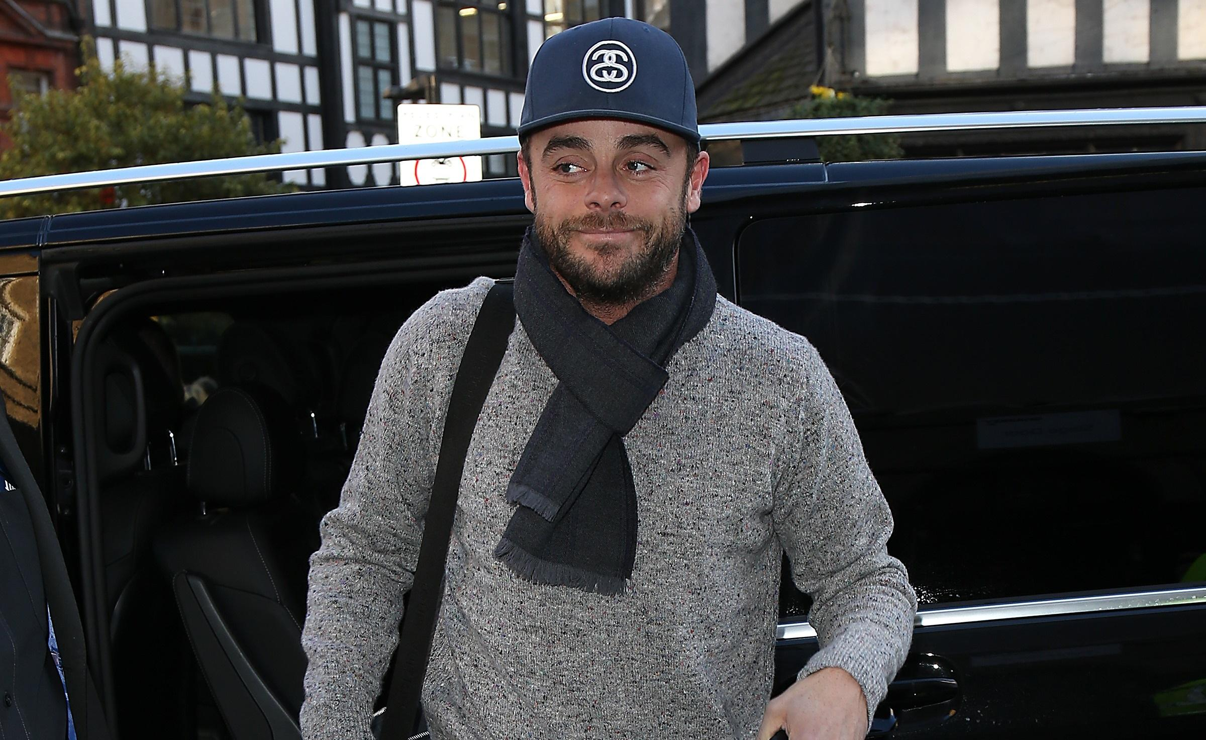 TV star Ant McPartlin charged with drink-driving