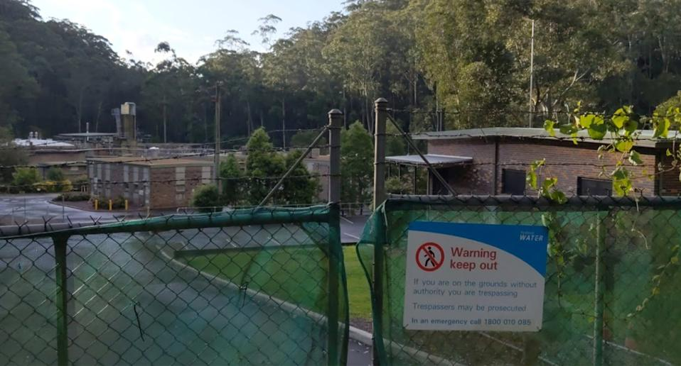 Fragments of the virus have been detected at the West Hornsby waste treatment plant. Source: Google Maps
