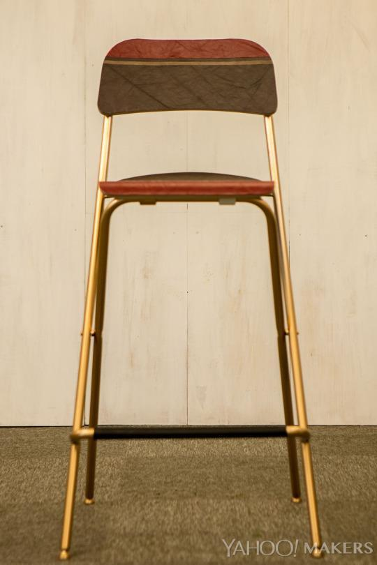 Gentil Turn A Simple IKEA Stool Into A Wow Worthy Designer Perch
