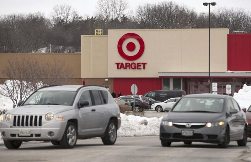 The new Target store is seen in Guelph, Ontario