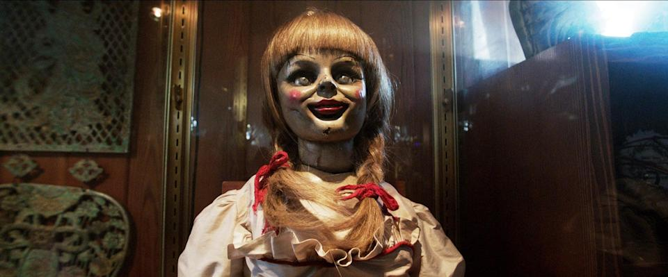 """<p>This 2013 film from director James Wan kicked off a whole cinematic universe. Since the immense success of <strong>The Conjuring</strong>, we've seen five sequels and prequels about haunted dolls (no, thank you), and undead nuns (double nope). </p><p><a href=""""http://www.netflix.com/title/70251894"""" class=""""link rapid-noclick-resp"""" rel=""""nofollow noopener"""" target=""""_blank"""" data-ylk=""""slk:Watch The Conjuring on Netflix now."""">Watch <strong>The Conjuring</strong> on Netflix now.</a></p>"""
