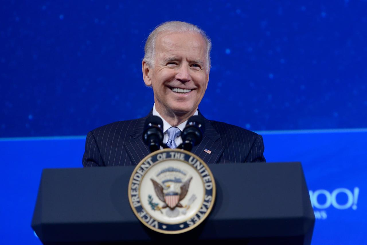 """<p>Former Vice President <a href=""""https://twitter.com/JoeBiden"""" target=""""_blank"""" class=""""ga-track"""" data-ga-category=""""Related"""" data-ga-label=""""https://twitter.com/JoeBiden"""" data-ga-action=""""In-Line Links"""">Joe Biden</a>, 76, announced on April 25 that he is running in the 2020 presidential election. In his campaign kickoff video, Biden denounced Trump's response to the 2017 white supremacy event in Charlottesville, VA, alleging that giving Trump eight years in office will """"fundamentally alter the character of this nation."""" Biden has hired Symone Sanders, press secretary to Bernie Sanders in the 2016 election, as a senior adviser to his campaign. </p> <p>Biden came under fire in March when a <a href=""""https://www.thecut.com/2019/03/an-awkward-kiss-changed-how-i-saw-joe-biden.html"""" target=""""_blank"""" class=""""ga-track"""" data-ga-category=""""Related"""" data-ga-label=""""https://www.thecut.com/2019/03/an-awkward-kiss-changed-how-i-saw-joe-biden.html"""" data-ga-action=""""In-Line Links"""">personal essay by Lucy Flores in <strong>New York Magazine</strong></a> revealed that the then-vice president inappropriately touched her, sparking several other women to share similar experiences with the politician. Biden responded to the accusations in a video message, vowing to pay attention to women's experiences and change his behavior.</p> <p>In September 2020, Biden was at the center of the <a href=""""https://www.businessinsider.com/impeachment-inquiry-into-trump-explained-in-30-seconds-2019-10"""" target=""""_blank"""" class=""""ga-track"""" data-ga-category=""""Related"""" data-ga-label=""""https://www.businessinsider.com/impeachment-inquiry-into-trump-explained-in-30-seconds-2019-10"""" data-ga-action=""""In-Line Links""""> impeachment inquiry into President Trump,</a> sparked by a whistleblower after Trump called on Ukraine President Volodymyr Zelensky to <a href=""""https://www.washingtonpost.com/politics/impeachment-hearings-live-updates/2019/12/04/b7cc7b4e-1682-11ea-a659-7d69641c6ff7_story.html"""" target=""""_blank"""" class=""""ga-track"""" data-ga-"""
