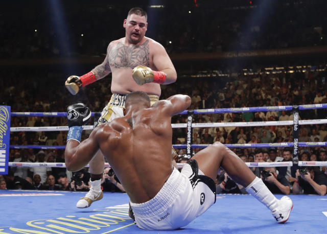 Andy Ruiz Jr. wants to control where he fights Anthony Joshua next. (AP Photo/Frank Franklin II)