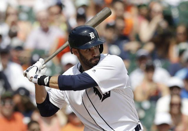 J.D. Martinez is on his way to Arizona. (AP Photo)