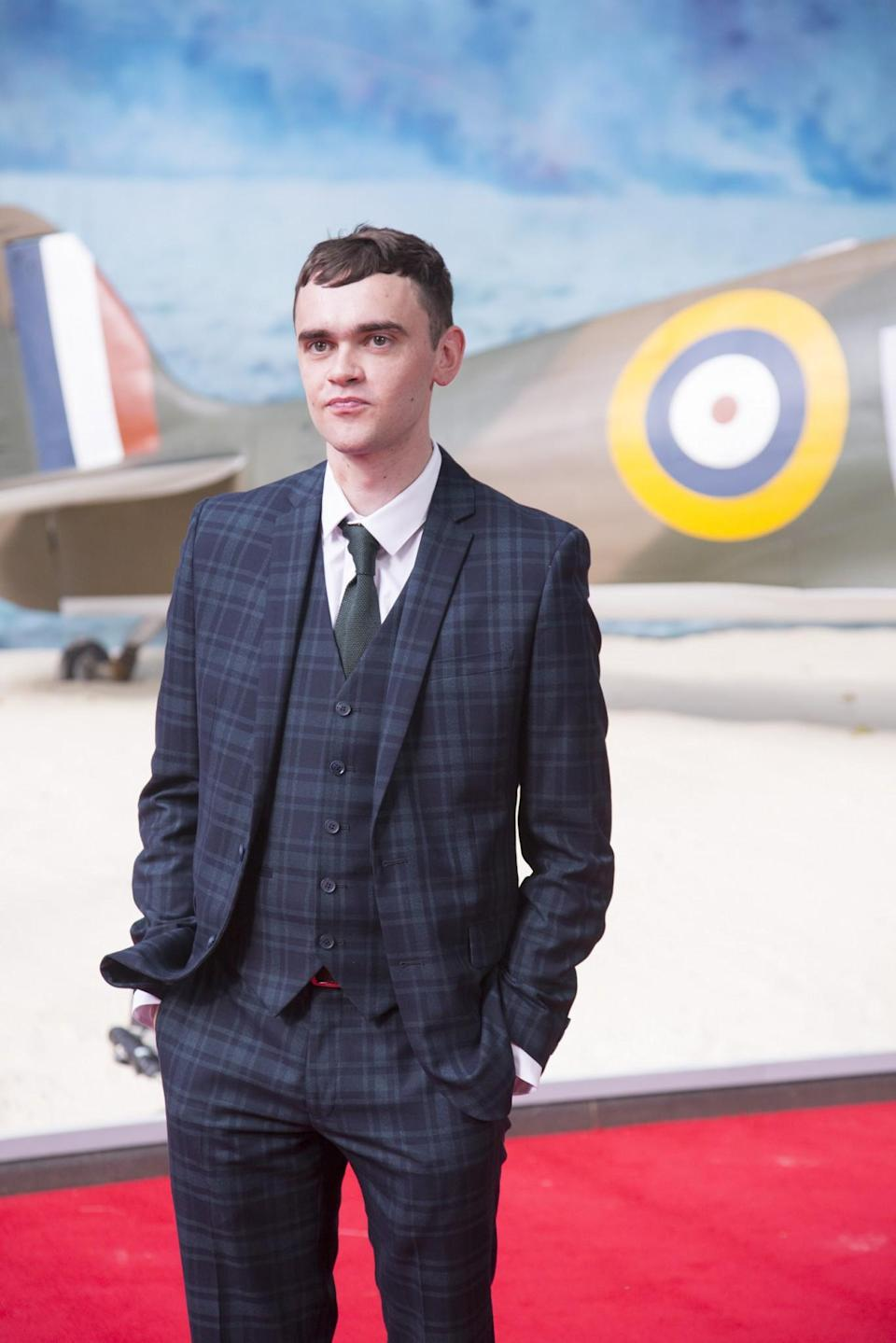 <p>Brian Vernel, who played Bala-Tik in 'Star Wars: The Force Awakens' plays a Highlander soldier in 'Dunkirk' (WB) </p>