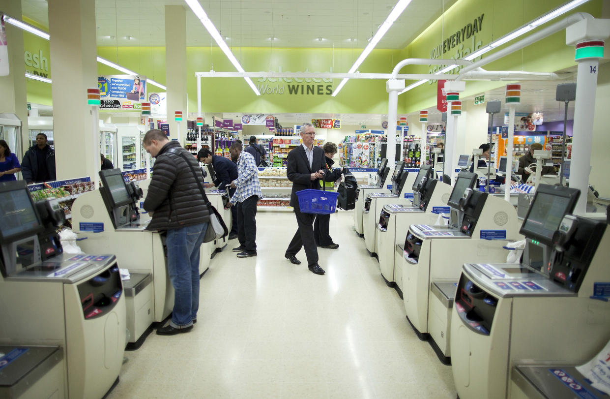<em>Scam – customers are scanning the wrong product at self-service tills, it's claimed (Picture: Bloomberg)</em>