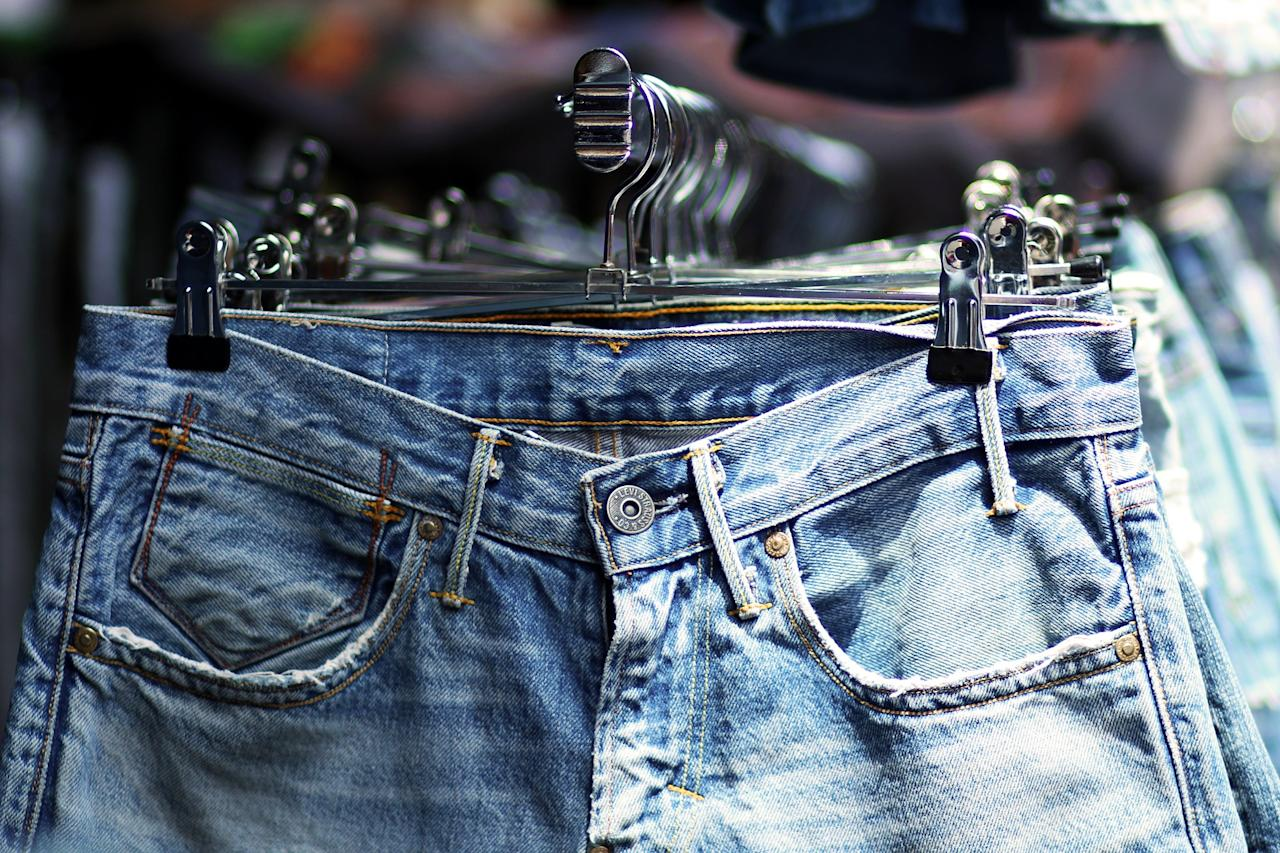 Trace the evolution of jeans through the history of time.
