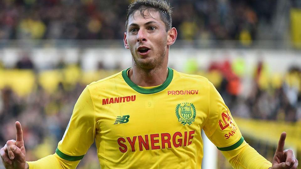 Emiliano Sala in action for Nantes. Image: Getty