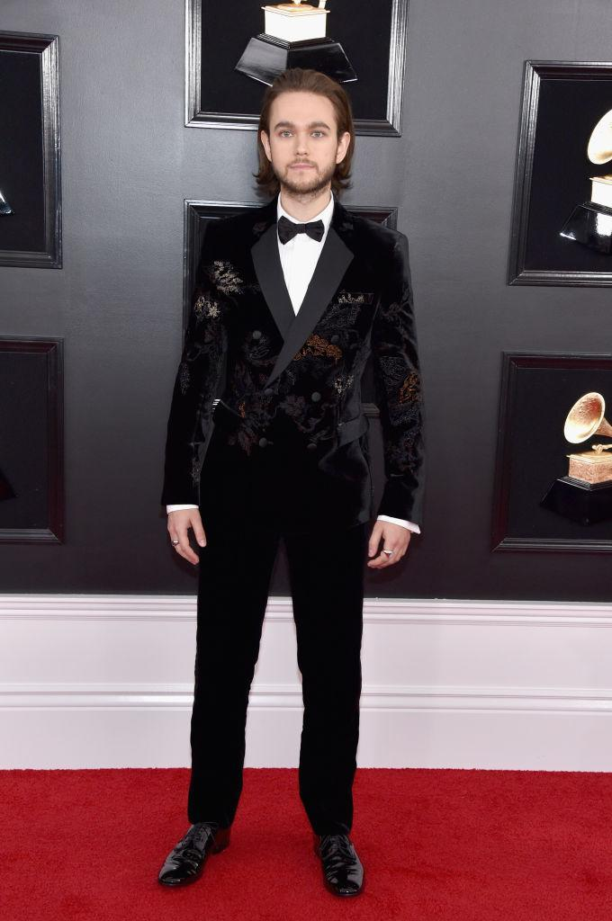 <p>Zedd attends the 61st annual Grammy Awards at Staples Center on Feb. 10, 2019, in Los Angeles. </p>