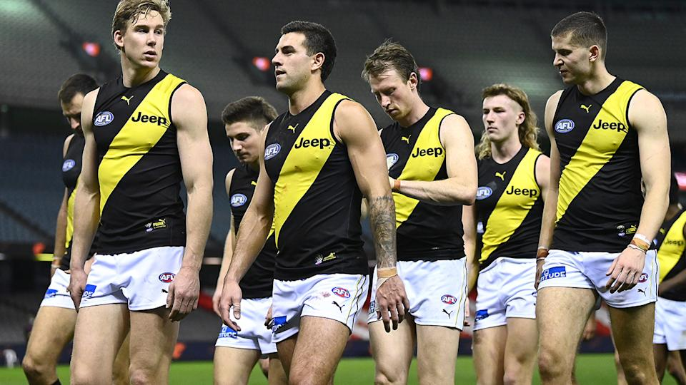 Richmond will miss the finals in 2021 after winning three premierships in the prior four seasons. (Photo by Quinn Rooney/Getty Images)
