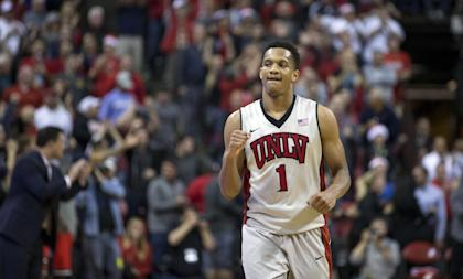 Rashad Vaughn is currently viewed as a second-round pick. (AP)