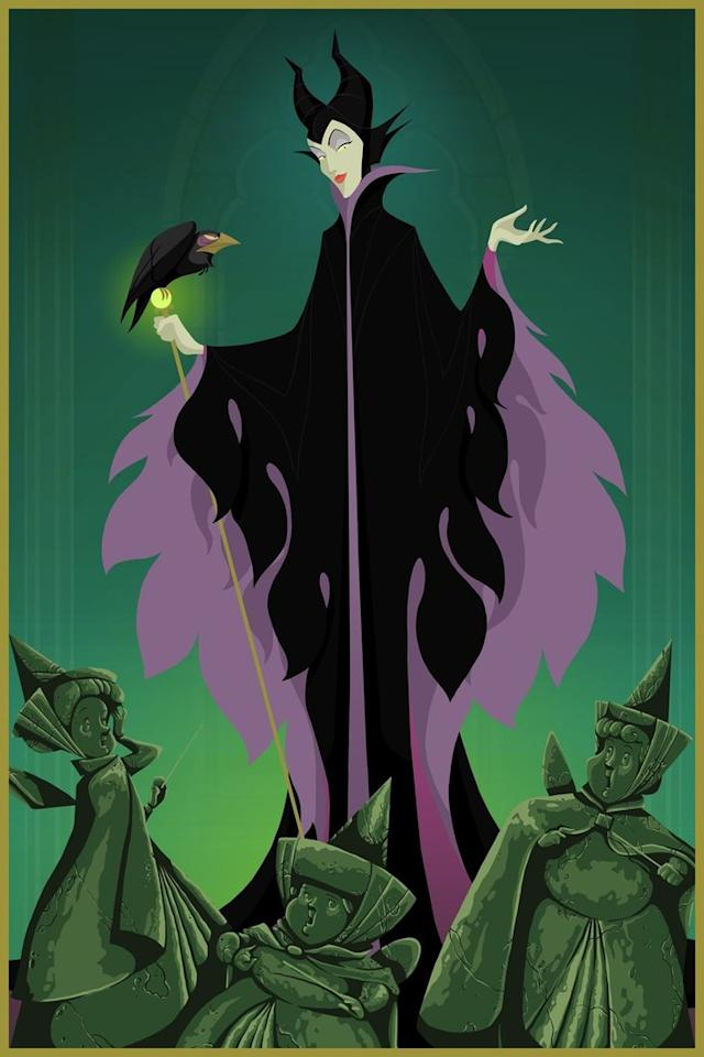 """<div class=""""caption-credit""""> Photo by: Justin Turrentine/DeviantArt.com</div><div class=""""caption-title"""">Sleeping Beauty</div>""""Maleficent finally gave those pesky fairies what the deserve,"""" Turrentine says of his darker ending to """"Sleeping Beauty."""" <br> <br>"""