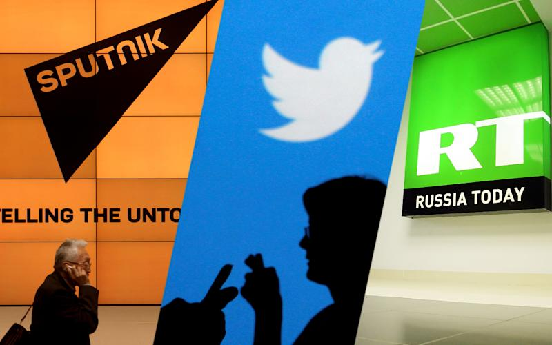 Image result for twitter on russian media