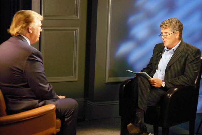 Donald Trump and Donny Deutsch in 2006