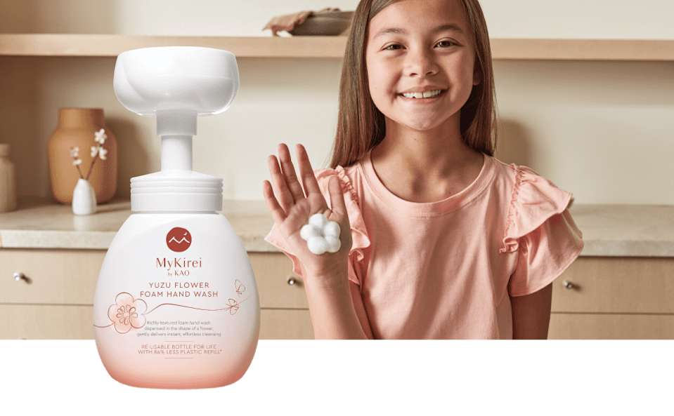 <p>The nourishing <span>MyKirei by KAO Foaming Hand Soap With Japanese Yuzu Flower</span> ($18) creates a fun flower shape on your hand. How cute is that!?</p>