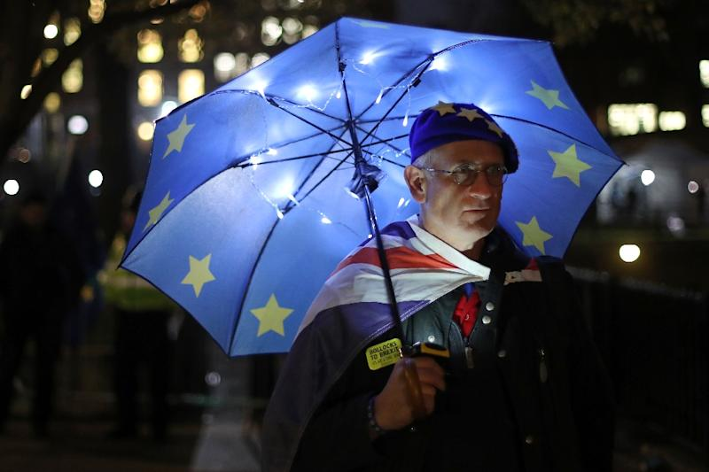 The British parliament is to finally vote on whether to support or vote against the agreement struck between Prime Minister Theresa May's government and the EU (AFP Photo/Daniel LEAL-OLIVAS)