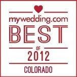 Shane Co. Awarded mywedding.com's Best Of 2012 Award for Colorado