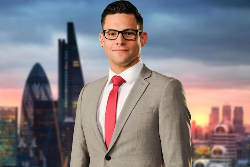 Rumoured: Former Apprentice candidate Andrew Brady