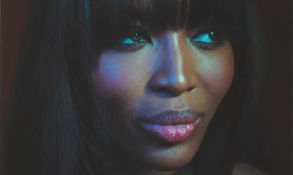 Naomi Campbell is among the celebrities photographed by Simon Frederick for his BBC documentary. (Simon Frederick)