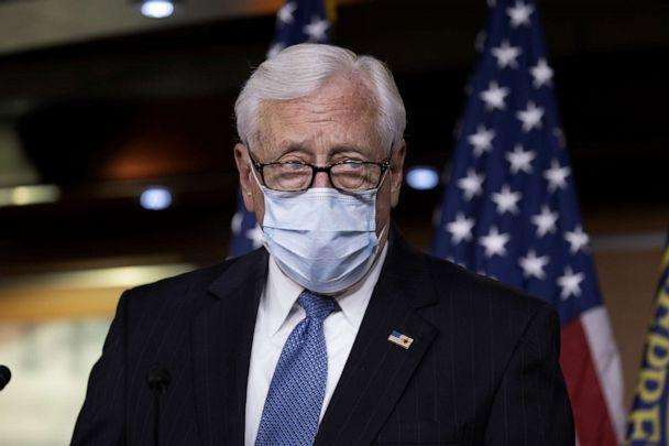 PHOTO: House Majority Leader Rep. Steny Hoyer speaks at a press conference on Capitol Hill on June 30, 2020 in Washington, DC. (Tasos Katopodis/Getty Images)
