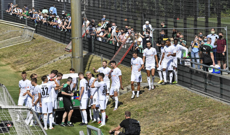 No standing, no beer: German soccer aims to bring fans back