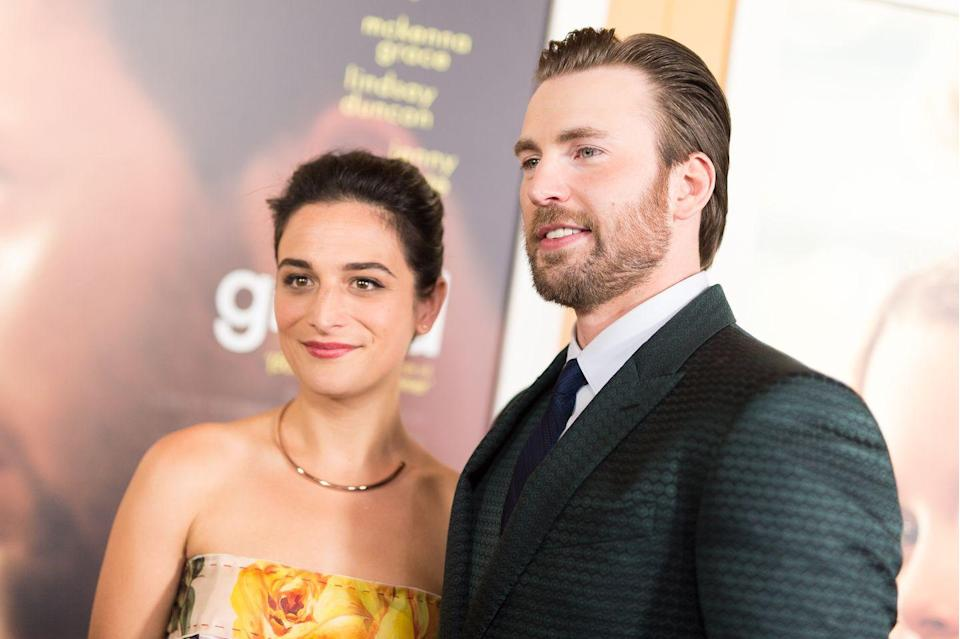 """<p>Slate and Evans met on the set of <em>Gifted </em>(2015) and began dating in mid 2016;<a href=""""https://www.usmagazine.com/celebrity-news/news/jenny-slate-dating-chris-evans-after-split-from-husband-w205791/"""" rel=""""nofollow noopener"""" target=""""_blank"""" data-ylk=""""slk:the pairing was confirmed by May"""" class=""""link rapid-noclick-resp""""> the pairing was confirmed by May</a>. They broke up in February 2017; after this, Slate <a href=""""https://www.vanityfair.com/hollywood/2017/07/jenny-slate-interview-landline"""" rel=""""nofollow noopener"""" target=""""_blank"""" data-ylk=""""slk:told Vanity Fair"""" class=""""link rapid-noclick-resp"""">told <em>Vanity Fair</em> </a>that she didn't like all the media coverage about her relationship. In October 2017, the two were <a href=""""https://www.elle.com/culture/celebrities/a13073942/chris-evans-and-jenny-slate-flirting-on-twitter/"""" rel=""""nofollow noopener"""" target=""""_blank"""" data-ylk=""""slk:blatantly flirting"""" class=""""link rapid-noclick-resp"""">blatantly flirting </a>on Twitter. She and Evans got back together around November 2017, when Evans posted a video where Slate can be distinctly heard laughing in the background. They <a href=""""https://okmagazine.com/photos/chris-evans-jenny-slate-getting-married-next-summer/"""" rel=""""nofollow noopener"""" target=""""_blank"""" data-ylk=""""slk:spark engagement rumors"""" class=""""link rapid-noclick-resp"""">spark engagement rumors </a>in January, but by March 2018, Evans <a href=""""https://www.nytimes.com/2018/03/22/theater/chris-evans-lobby-hero-captain-america.html"""" rel=""""nofollow noopener"""" target=""""_blank"""" data-ylk=""""slk:confirmed"""" class=""""link rapid-noclick-resp"""">confirmed</a>, in so many words, to<em> The</em> <em>New York </em><em>Times </em>that he and Slate wee over. In September 2019, Slate confirmed <a href=""""https://www.thecut.com/2019/09/jenny-slate-engaged-boyfriend-ben-shattuck.html"""" rel=""""nofollow noopener"""" target=""""_blank"""" data-ylk=""""slk:she's engaged"""" class=""""link rapid-noclick-resp"""">she's engaged</a> to Ben Shattuck. </p>"""