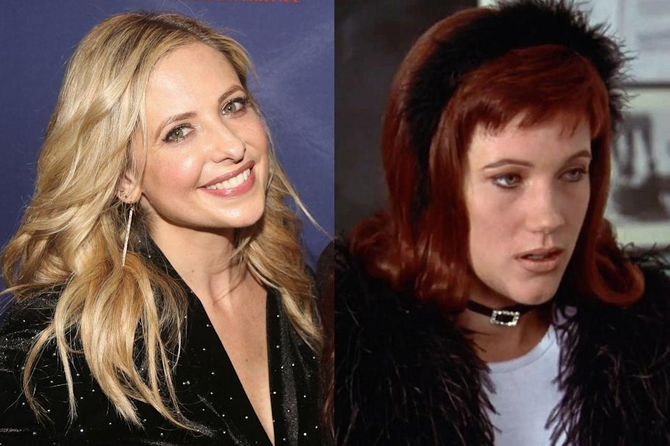 """<p><em>Clueless</em> co-producer Adam Schroeder loved Gellar on the soap opera she was then starring on, <em>All My Children</em>. After he showed tapes of her to writer-director Amy Heckerling, they offered Gellar the role of Cher's nemesis, Amber. """"There became a big negotiation for <em>All My Children</em> to let her out,"""" Schroeder <a href=""""https://www.vanityfair.com/hollywood/2015/06/clueless-oral-history-20-anniversary"""" rel=""""nofollow noopener"""" target=""""_blank"""" data-ylk=""""slk:told Vanity Fair"""" class=""""link rapid-noclick-resp"""">told<em> Vanity Fair</em></a>. """"It was just for a couple of weeks, and they absolutely stuck their feet in [and] wouldn't let her."""" Gellar had no choice but to turn down the movie.</p>"""
