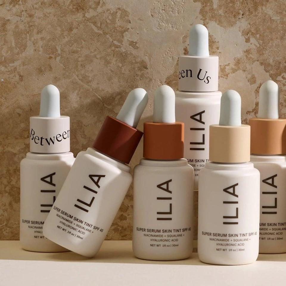 <p>Let your skin breathe with the <span>Ilia Super Serum Skin Tint SPF 40 Foundation</span> ($48). It's a lightweight, dewy tinted coverage that is perfect for the daytime. It contains niacinamide, which helps control and prevent breakouts, and squalane and hyaluronic acid to help keep your skin hydrated.</p>