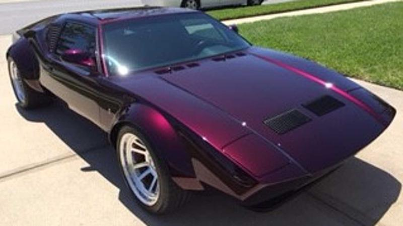 Tear It Up With A 1973 De Tomaso Pantera