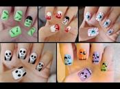 """<p>This video shows five cute and easy nail tutorials perfect for beginners, including Frankenstein, Dracula, bloodshot eyes, skulls, and monster-zombies. Do yourself a favor and order <a href=""""https://www.amazon.com/Kangler-Nail-Pens-Colors-Decoration/dp/B088HG34PF/?tag=syn-yahoo-20&ascsubtag=%5Bartid%7C10050.g.33512580%5Bsrc%7Cyahoo-us"""" rel=""""nofollow noopener"""" target=""""_blank"""" data-ylk=""""slk:nail pens"""" class=""""link rapid-noclick-resp"""">nail pens</a> and other tools—you'll be glad you did!</p><p><a class=""""link rapid-noclick-resp"""" href=""""https://www.amazon.com/JSDOIN-Dotting-Tool-Paint-Manicure/dp/B07GBS9WLX/?tag=syn-yahoo-20&ascsubtag=%5Bartid%7C10050.g.33512580%5Bsrc%7Cyahoo-us"""" rel=""""nofollow noopener"""" target=""""_blank"""" data-ylk=""""slk:SHOP DOTTING TOOLS FOR NAILS"""">SHOP DOTTING TOOLS FOR NAILS </a></p><p><a href=""""https://www.youtube.com/watch?v=njBmnVEV7Bc"""" rel=""""nofollow noopener"""" target=""""_blank"""" data-ylk=""""slk:See the original post on Youtube"""" class=""""link rapid-noclick-resp"""">See the original post on Youtube</a></p>"""