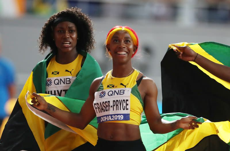 Fraser-Pryce to go for sprint double at Tokyo Olympics