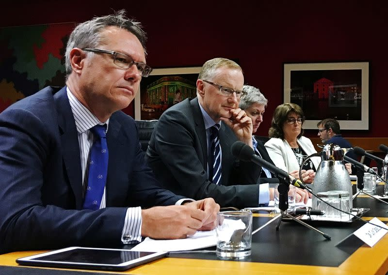 Reserve Bank of Australia Governor Philip Lowe speaks at a parliamentary committee hearing in Sydney