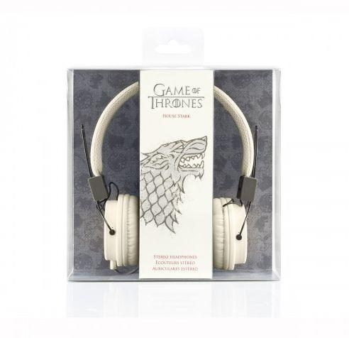 """Sound the horn, we've found what you once thought couldn't exist. <a href=""http://store.hbo.com/game-of-thrones-house-stark-on-ear-headphones/detail.php?p=443751&v=hbo_shows_game-of-thrones_jewelry-and-accessories"" target=""_blank"">The Game of Thrones House Stark On-Ear Headphones </a>feature the vicious direwolf sigil of House Stark on each ear."""