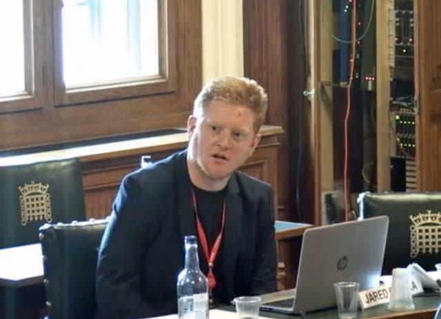 O'Mara during a committee meeting in the House of Commons