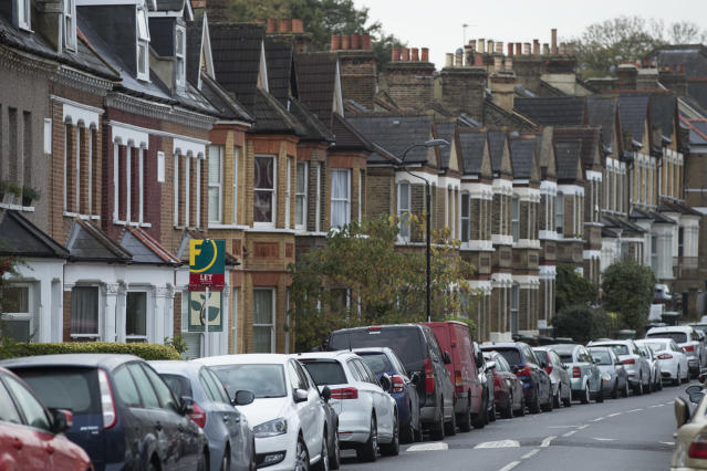 Rents have fallen in London, according to a survey. (Dan Kitwood/Getty Images)
