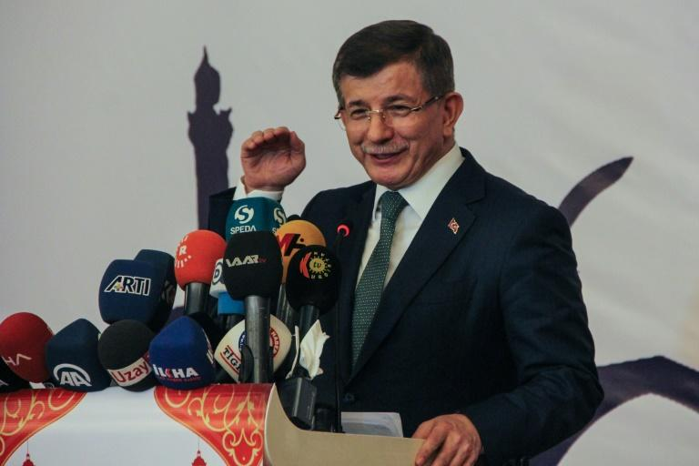 Former prime minister Ahmet Davutoglu is seen as unlikely to join forces withother splitters from the AKP, having been a fairly divisive figure himself in the past (AFP Photo/Ilyas AKENGIN)