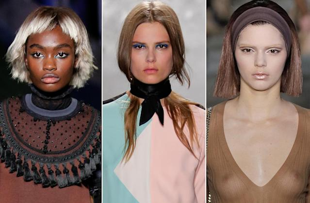 <p>Bold textures defined Jacobs's 2014 runways. (Photo: Getty Images) </p>