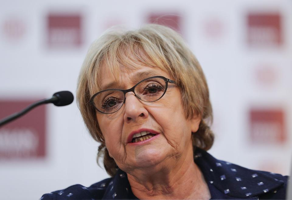 File photo dated 14/01/17 of Margaret Hodge MP, ahead of the release of a report by the Equality and Human Rights Commission (EHRC) report into how the Labour Party has handled the anti-Semitism crisis. The report comes after years of complaints over how allegations of anti-Semitism were dealt with under Jeremy Corbyn's leadership.Veteran MP Dame Margaret Hodge had a robust exchange with Mr Corbyn about his handling of anti-Semitic allegations in the party as he left the Commons chamber in 2018.