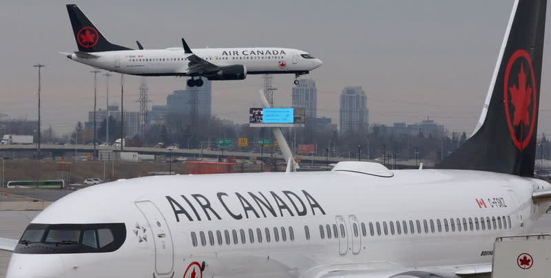 Air Canada weighs order cancellations, blames travel restrictions, after second-quarter loss