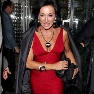 Nancy Dell'Olio aims for Strictly supermodel success