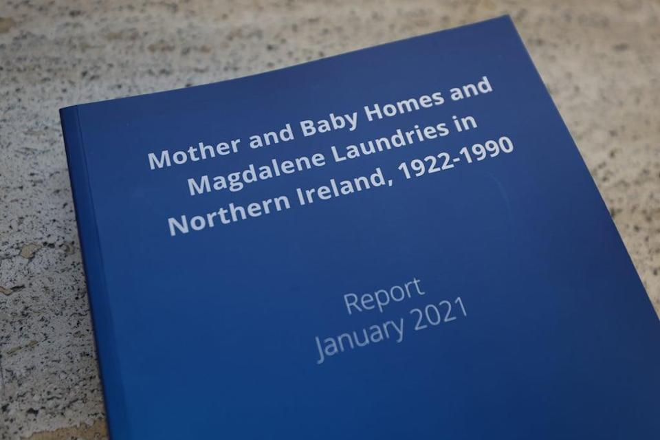 The research report on mother and baby homes and Magdalene laundries (PA) (PA Archive)