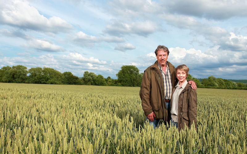Characters in The Archers could soon be monitoring their crops by drone - GARY MOYES/BBC