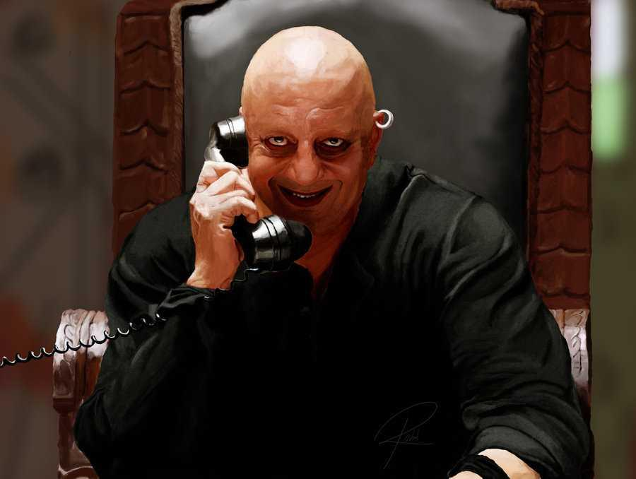 In the remake of 1990's <em>Agneepath</em>, Dutt plays the role of mean, dangerous and ruthless Kancha Cheena. In the original movie the role was played by Danny Denzongpa.