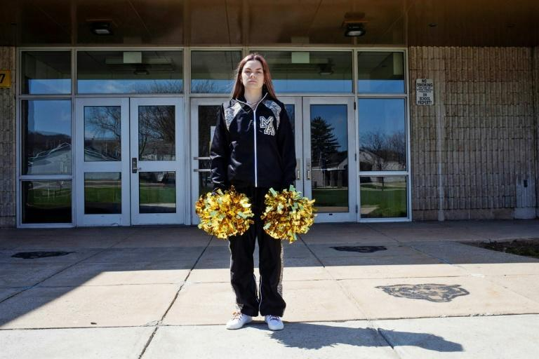 Brandi Levy, a former cheerleader at a high school in Mahanoy City, Pennsylvania, whose free speech case was debated in the Supreme Court