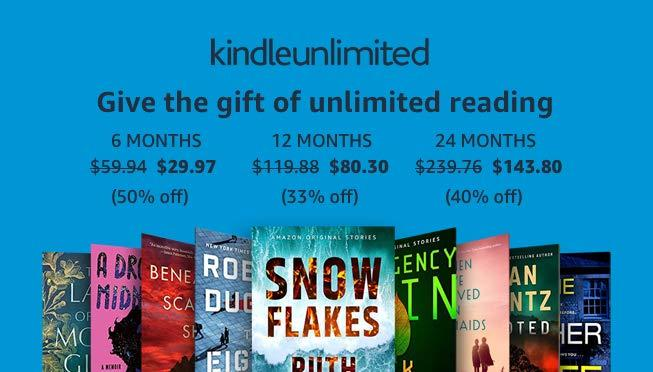 Kindle Unlimited plans start at $30 for a limited time. (Photo: Amazon)