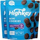 <p>Who could say no to these yummy <span>HighKey Snacks Chocolate Brownie Cookie Bites</span> ($14 for three)?</p>