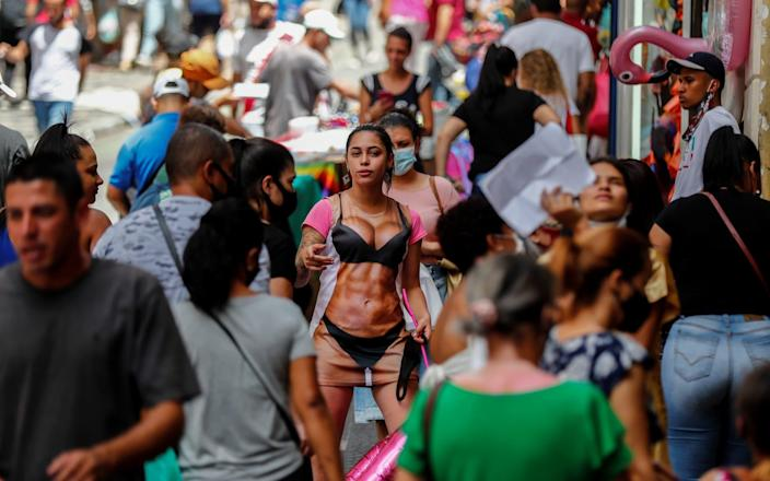 Yesterday Brazil registered its highest daily death count – 1,726 - Shutterstock